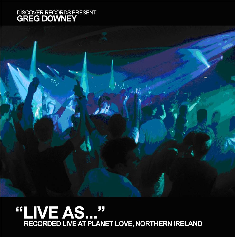 Greg Downey - Live As... Vol. 5