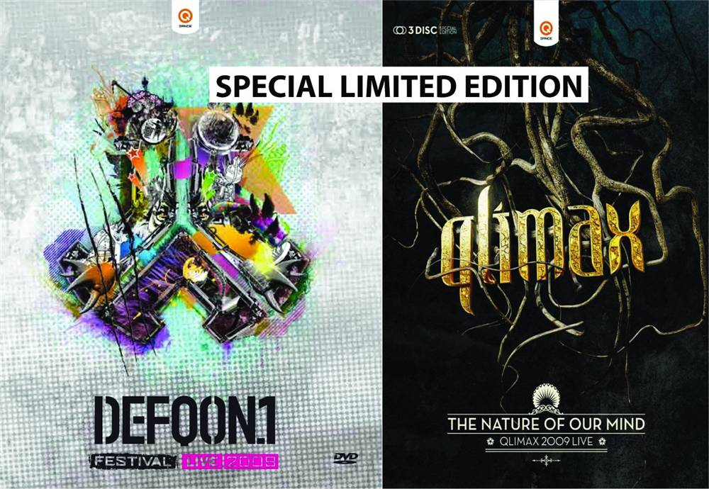 Qlimax + Defqon 1 Festival 09 - The Nature Of Our Mind+bonus
