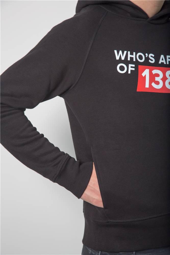 Who's Afraid Of 138?! - Black Hoodie - Men