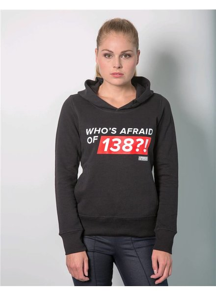 Who's Afraid Of 138?! - Black Hoodie - Women