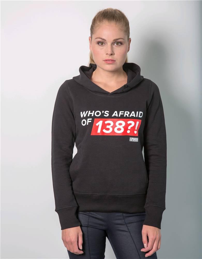 Who's Afraid Of 138?! - Black Hoodie - Women