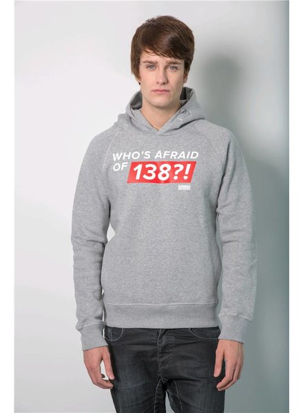Who's Afraid Of 138?!  Who's Afraid Of 138?! - Grey Hoodie - Men