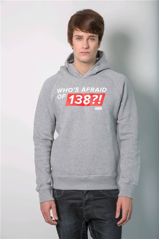 Who's Afraid Of 138?!  Who's Afraid Of 138?! - Grey Hoodie - Men