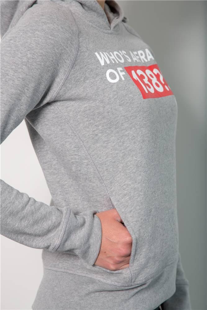 Who's Afraid Of 138?! - Grey Hoodie - Women