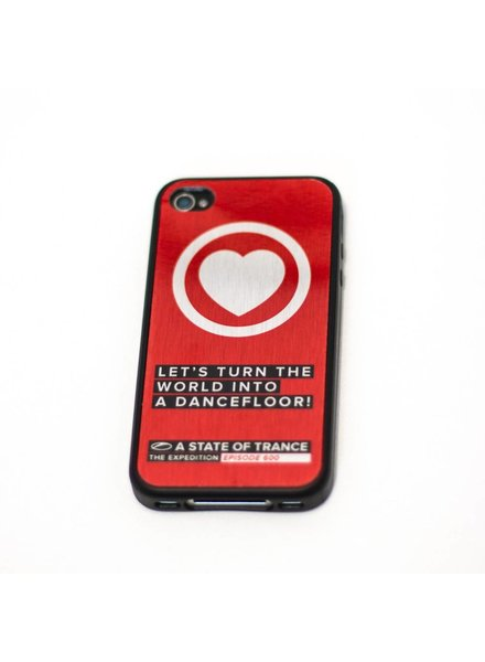 A State Of Trance A State Of Trance 600 - Red iPhone 4S Case