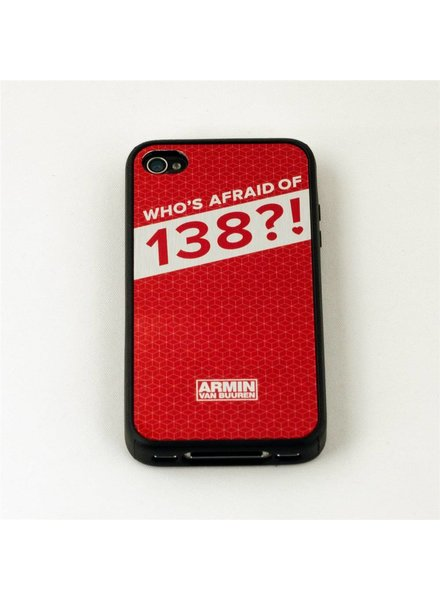Who's Afraid Of 138?!  Who's Afraid Of 138?! - Red iPhone 4S Case
