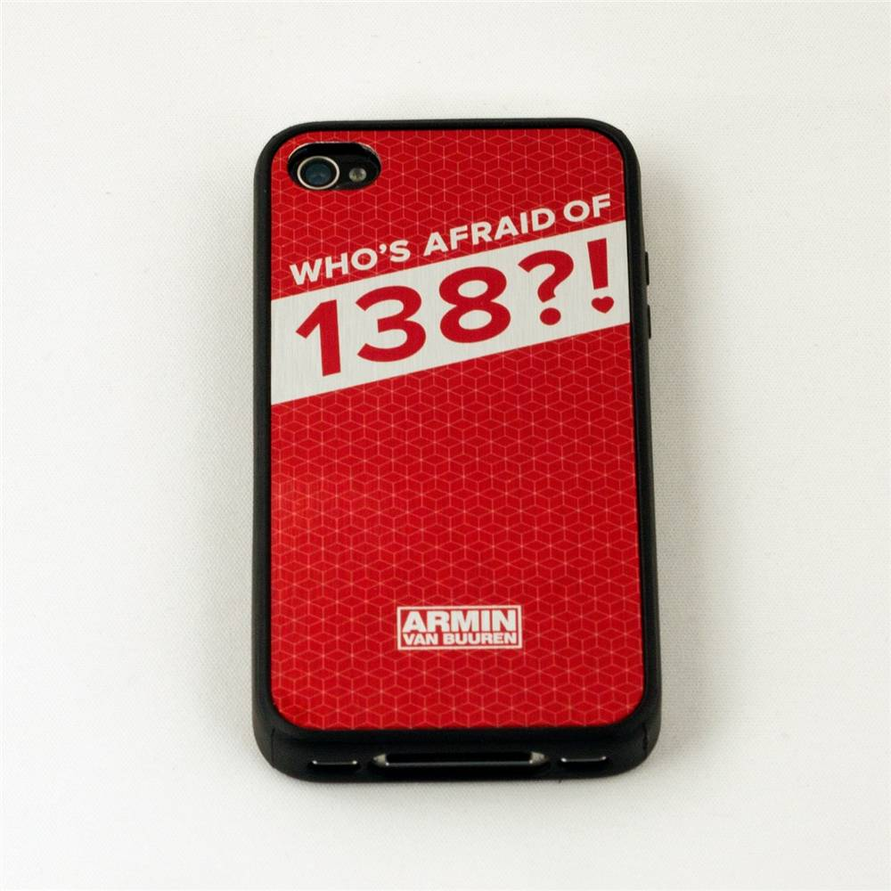 Who's Afraid Of 138?! - Red iPhone 4S Case