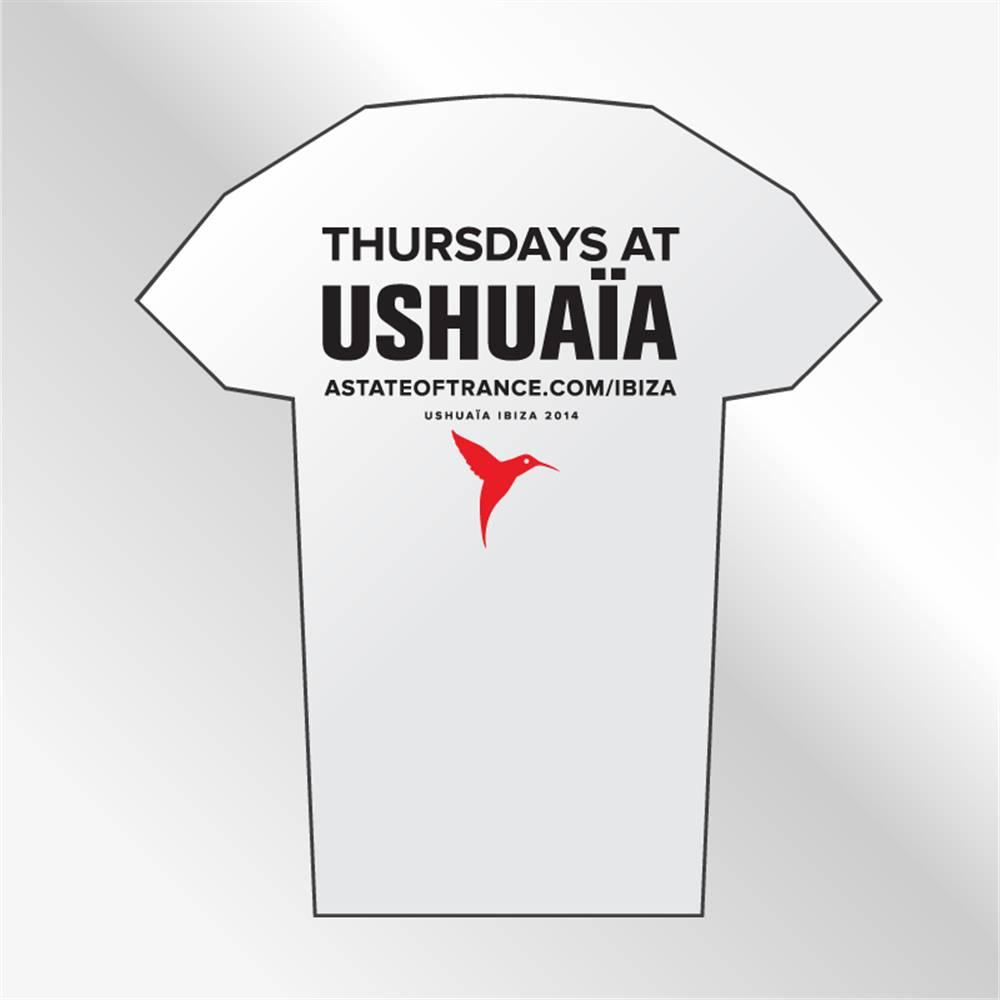 Armin van Buuren Armin van Buuren -  White Ushuaia Ibiza T-Shirt - Women