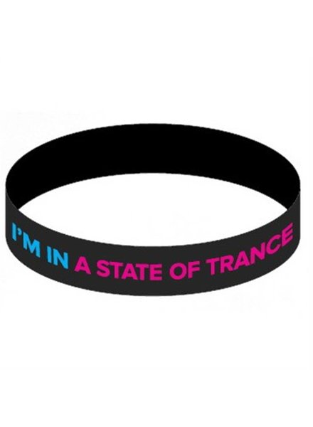 A State Of Trance A State Of Trance - Black & Pink Wristband