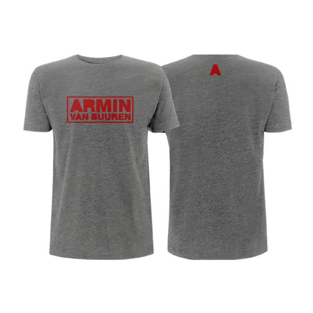 Armin van Buuren Armin van Buuren - Sport Grey Logo T-Shirt