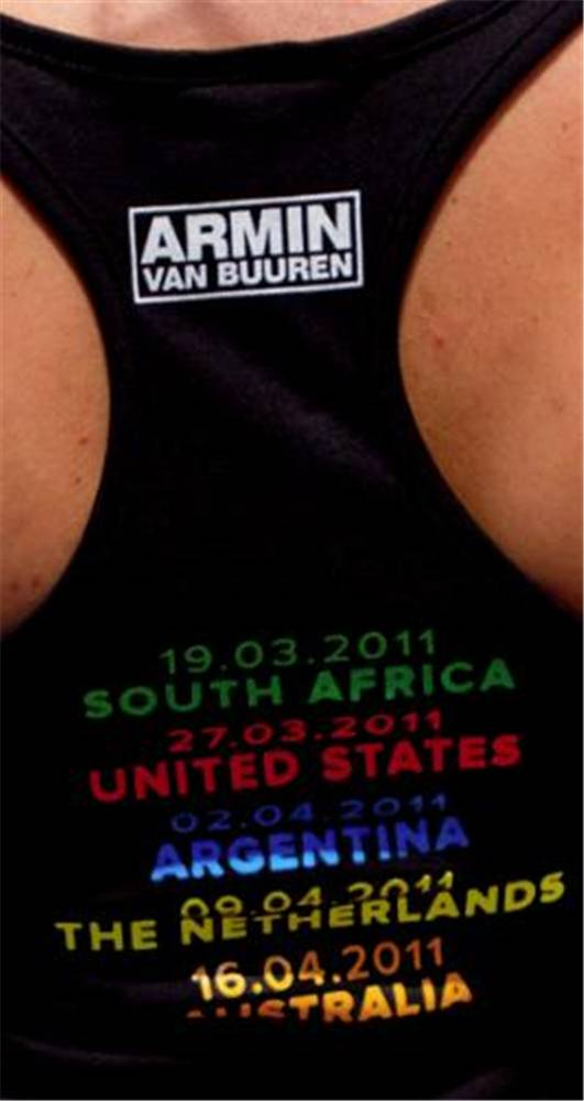 A State Of Trance A State Of Trance 500 - Ladies Tank Top Black