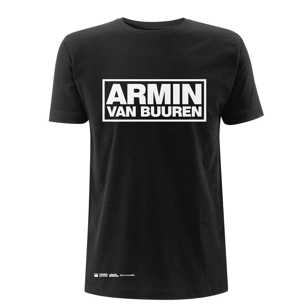 Armin van Buuren Armin van Buuren - Black Logo T-Shirt - Men