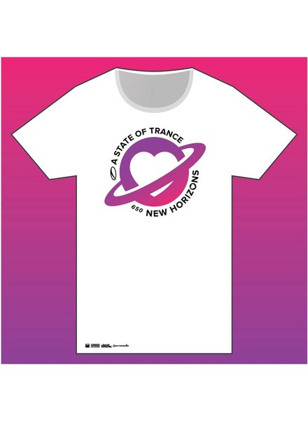 A State Of Trance A State Of Trance - 650 White World Tour T- Shirt - Women