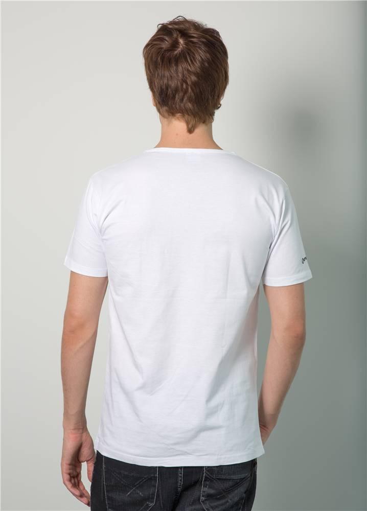 Armin van Buuren Armin van Buuren - White Slim Fit Logo T-Shirt - Men
