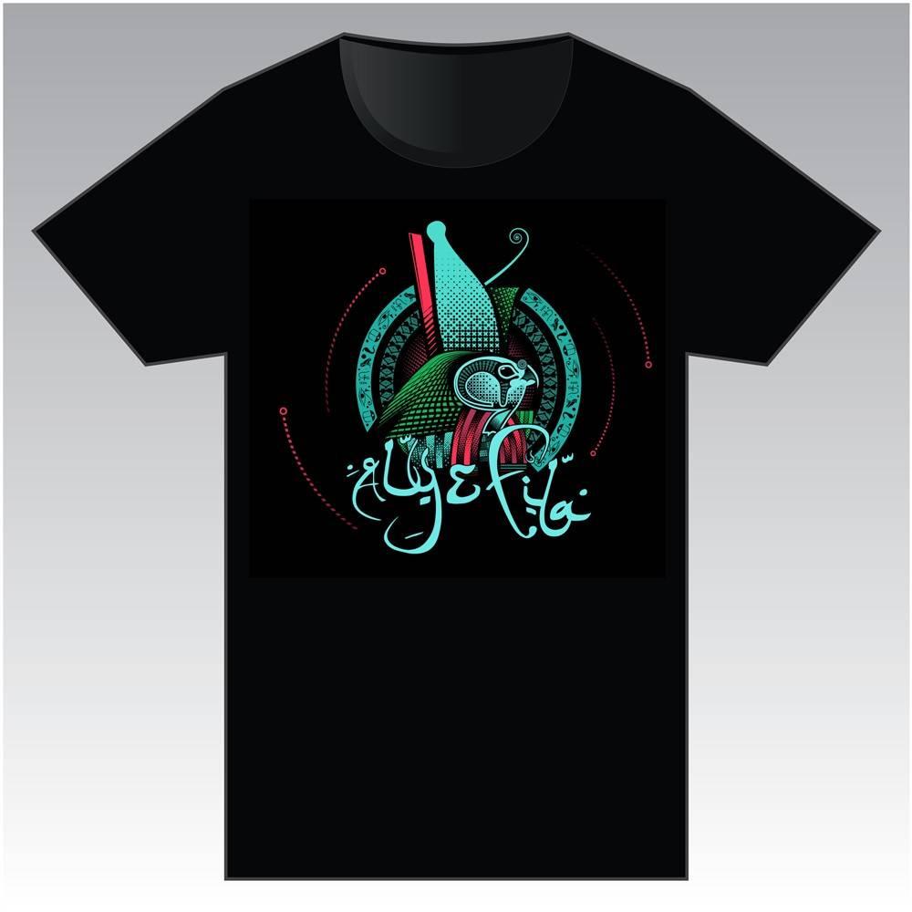 Aly & Fila - Black Logo T-Shirt - Men