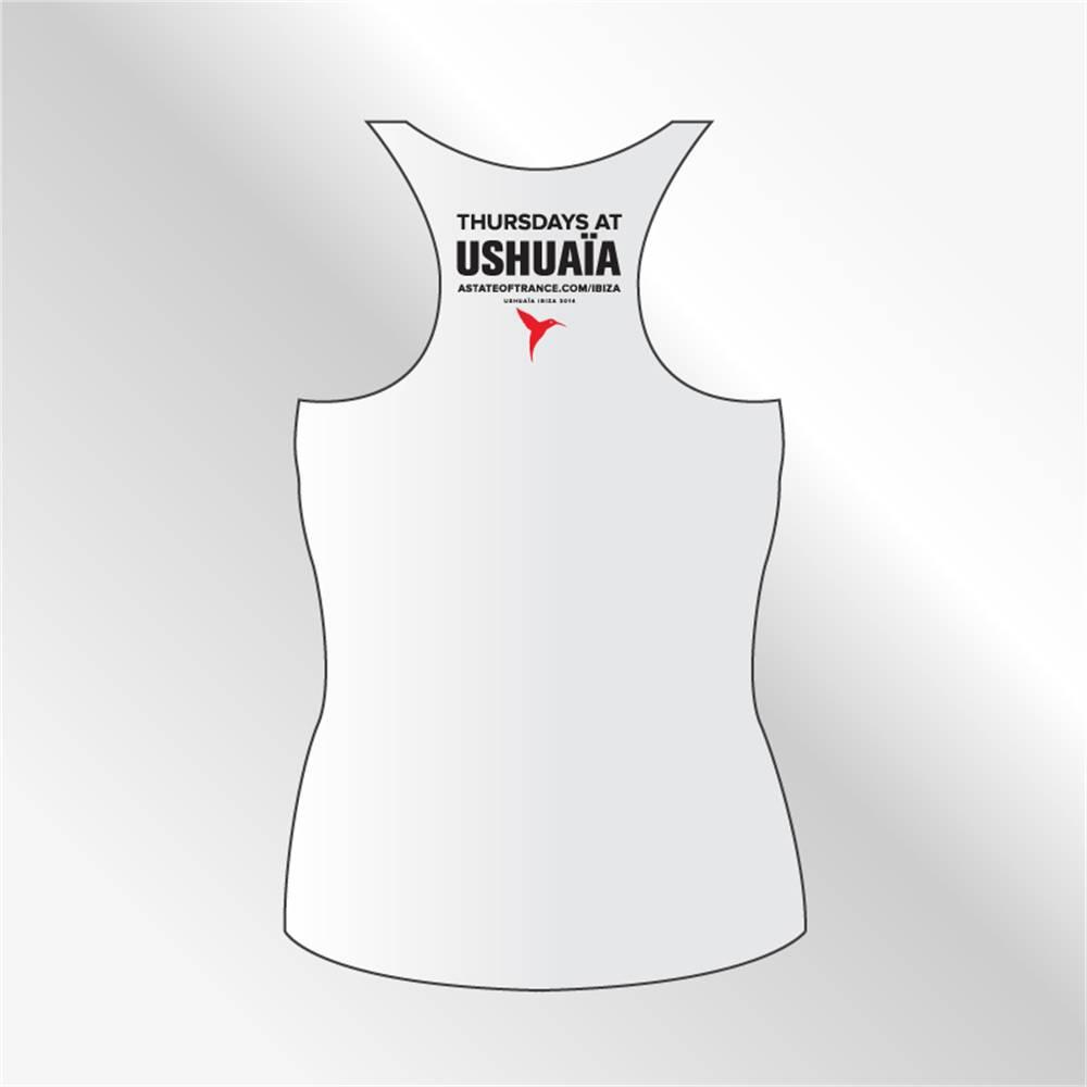 Armin van Buuren Amin van Buuren - White Ushuaia Ibiza Tank Top - Women