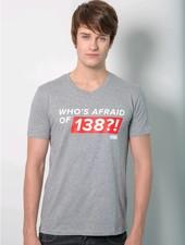Armin van Buuren Armin van Buuren - Grey Who's Afraid Of 138?! T-Shirt