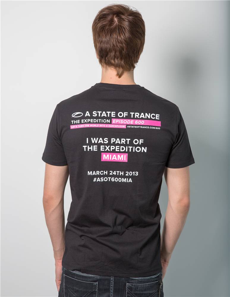 A State Of Trance A State Of Trance - Black 600 Miami T-Shirt - Men