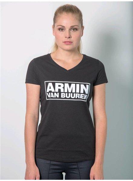 Armin van Buuren Armin van Buuren - Black Logo T-Shirt - Women