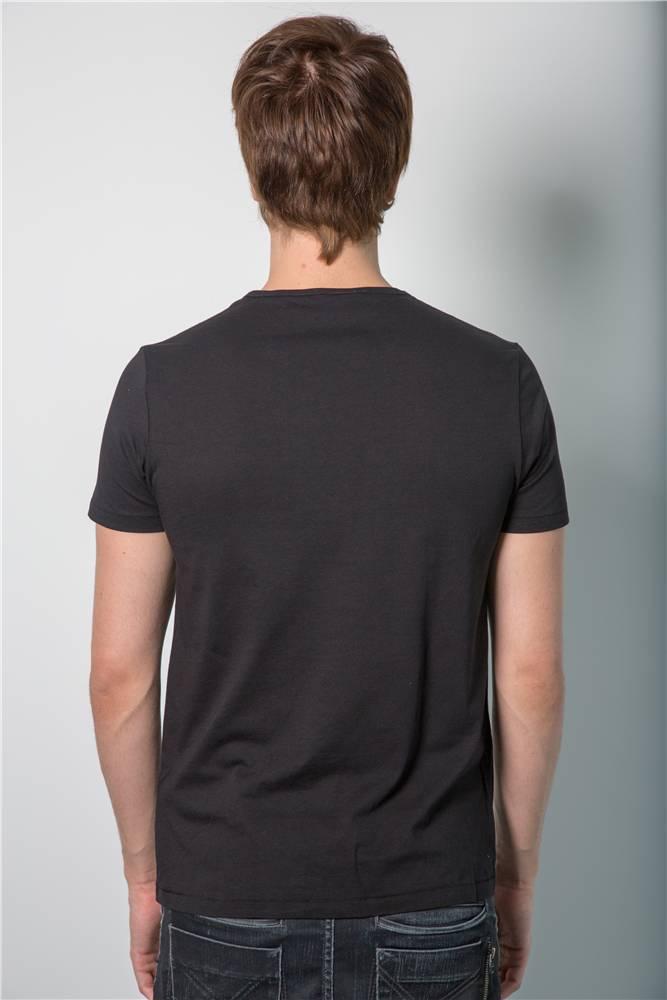 Armin van Buuren Armin van Buuren - Black Round-Neck Logo T-Shirt - Men