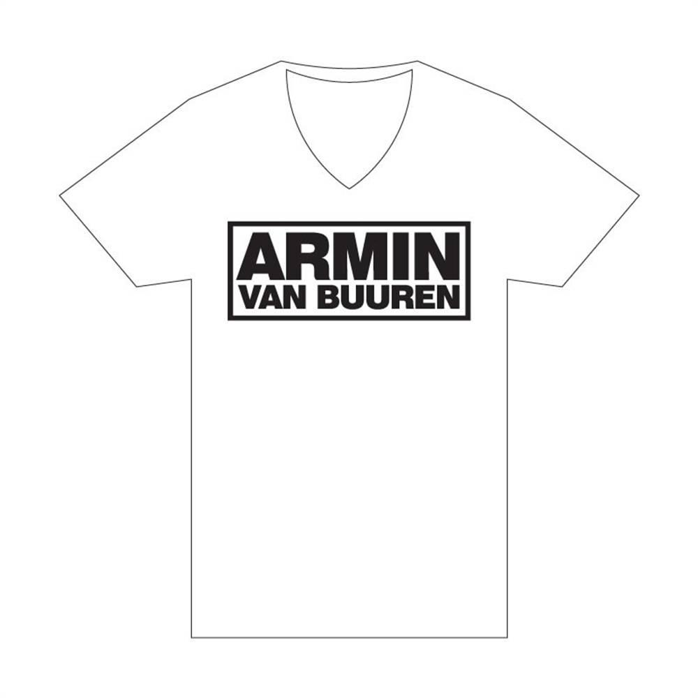 Armin van Buuren Armin van Buuren - White Logo T-Shirt - Women