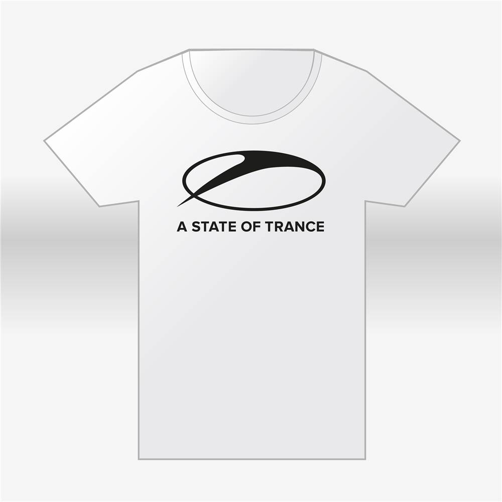 A State Of Trance A State Of Trance -White Round-Neck T-Shirt - Men