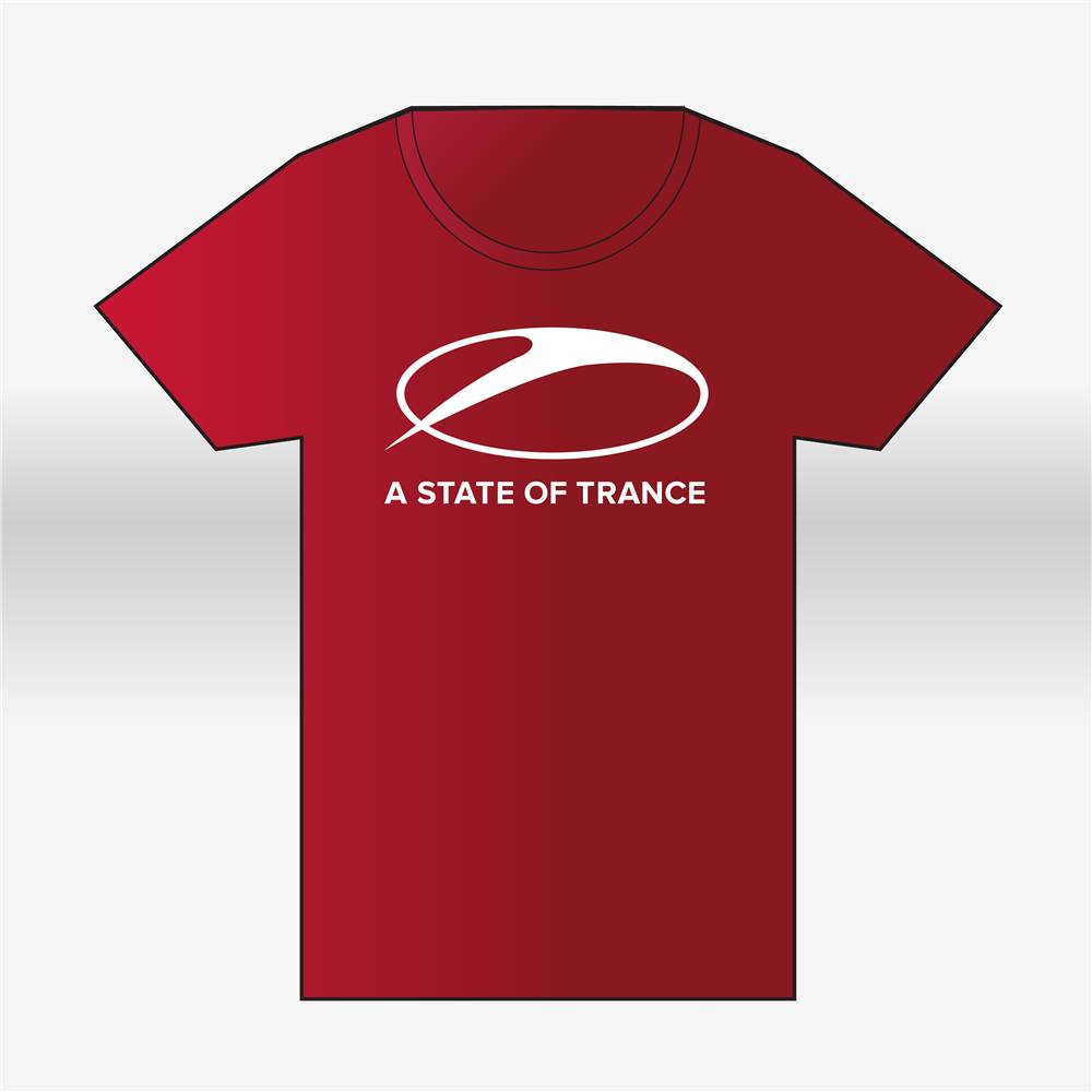A State Of Trance A State Of Trance - Red Round-Neck T-Shirt - Men