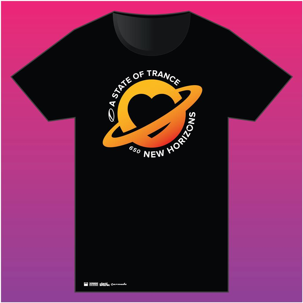 A State Of Trance A State Of Trance - Black 650 Utrecht T-Shirt - Men
