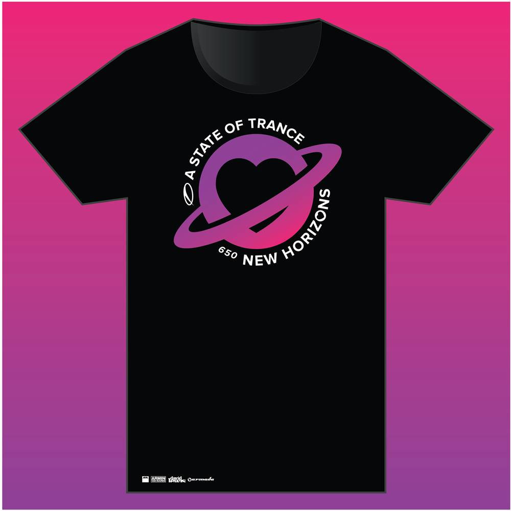 A State Of Trance A State Of Trance - Black 650 World Tour T- Shirt - Women