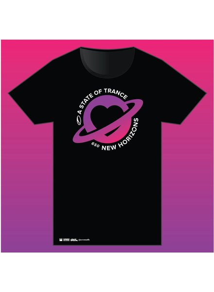 A State Of Trance A State Of Trance - Black 650 World Tour T- Shirt - Men