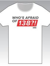 Who's Afraid Of 138?! - White Round-Neck T-Shirt - Men