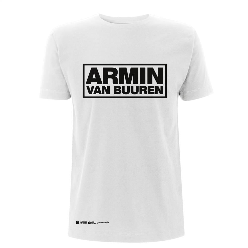 Armin van Buuren Armin van Buuren - White Logo T-Shirt