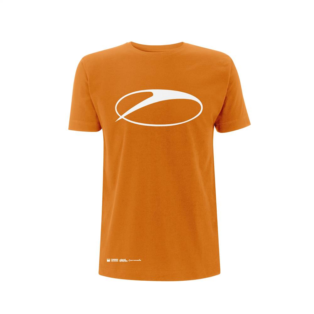 A State Of Trance A State Of Trance - Orange Swoosh Logo - Men