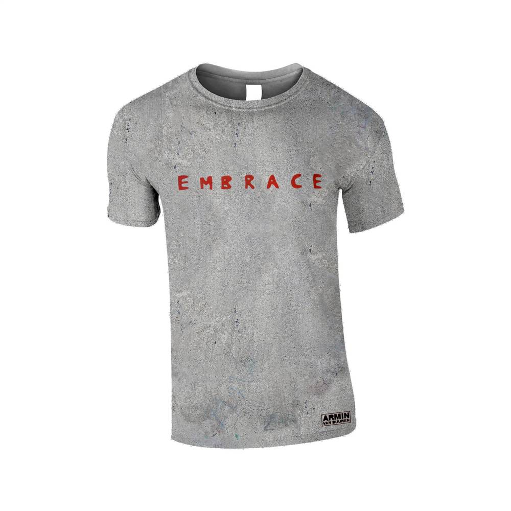 Embrace Armin van Buuren - Embrace Cement All Over T-Shirt