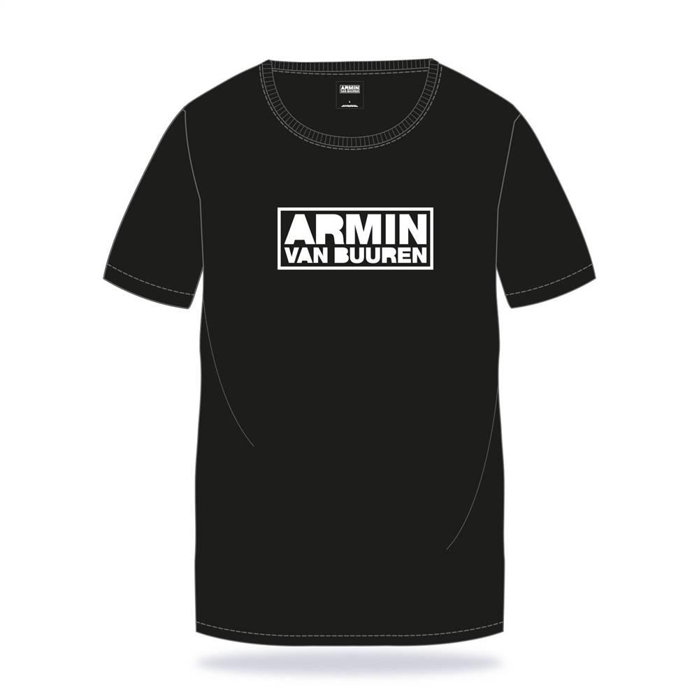 Armin van Buuren Armin van Buuren - Black New Logo T-Shirt
