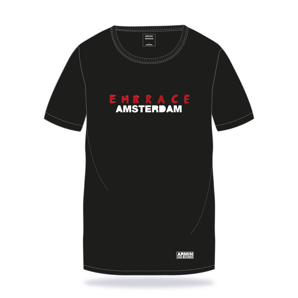 Embrace Armin van Buuren - Embrace Amsterdam - Black - T-Shirt