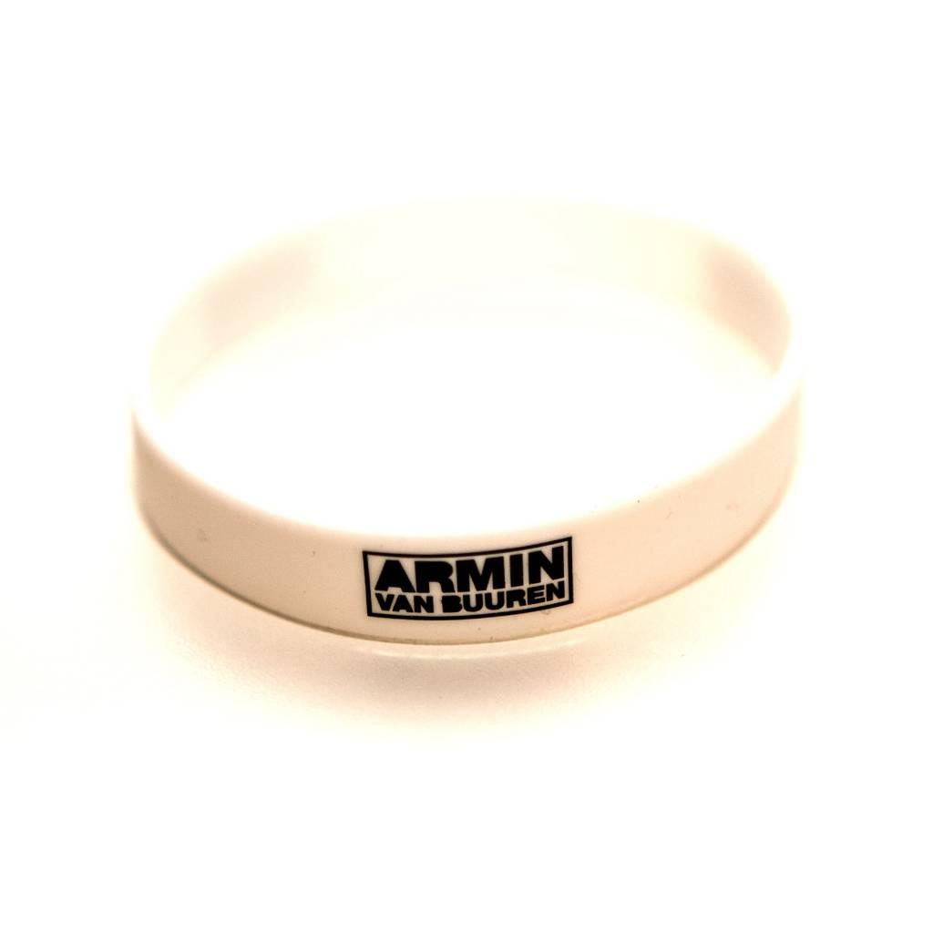 Armin van Buuren Armin van Buuren - White New Logo Wristband
