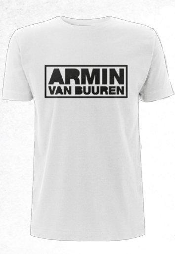 Armin van Buuren Armin van Buuren - New Logo White T-Shirt