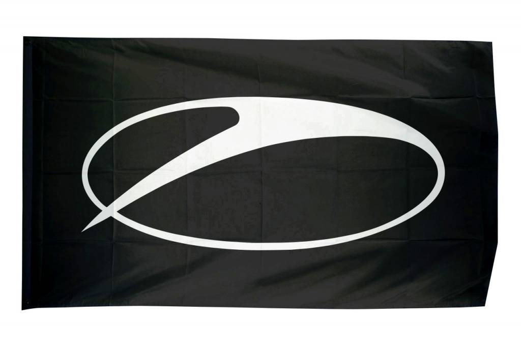 A State Of Trance A State Of Trance - Swoosh Logo Flag