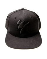 Armada Music Armada Snapback Logo Cap (Black On Black)