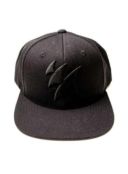 Armada Music Armada Snap Back Logo Cap (Black On Black)