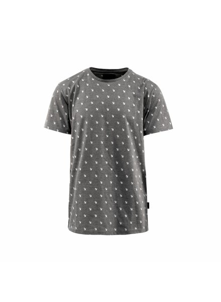 Armada Music Armada Music - Grey All Over Logo - T-Shirt
