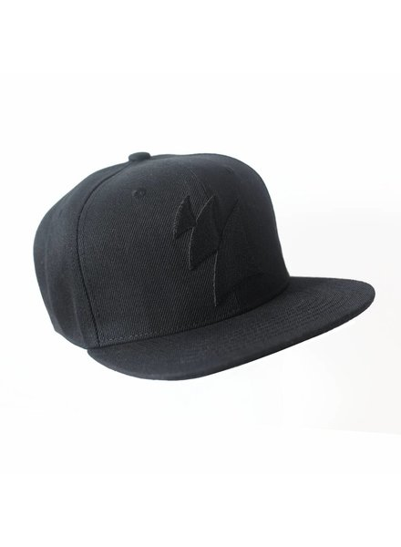 Armada Music Armada Music - Snapback Cap (Black On Black)