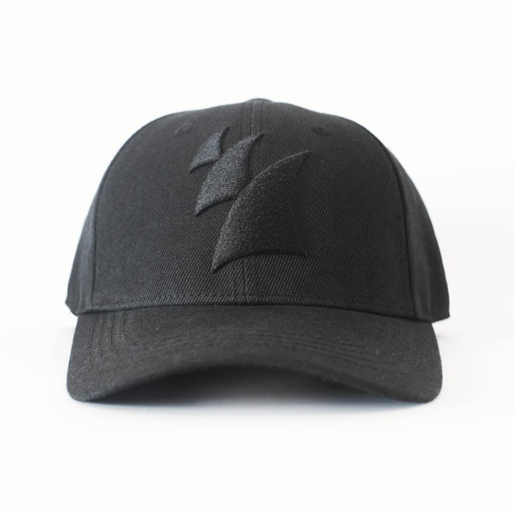 Armada Music Armada Music - Baseball Cap (Black On Black)