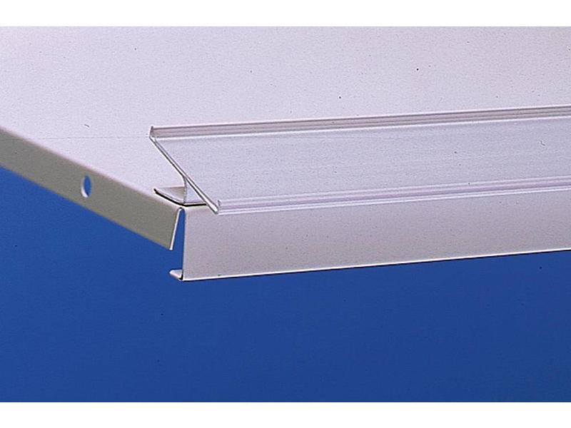 Barcode-prijskaartrail HE/ST met inschuifhoogte 39 mm