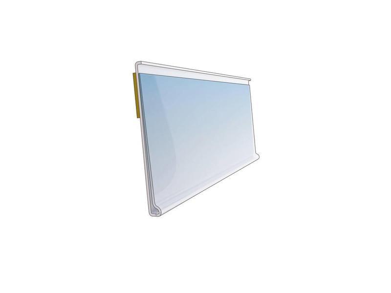 Barcode-prijskaartrail WP met inschuifhoogte 39 mm
