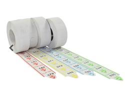 Minipoint Volgnummers 5 x rol á 2000 tickets