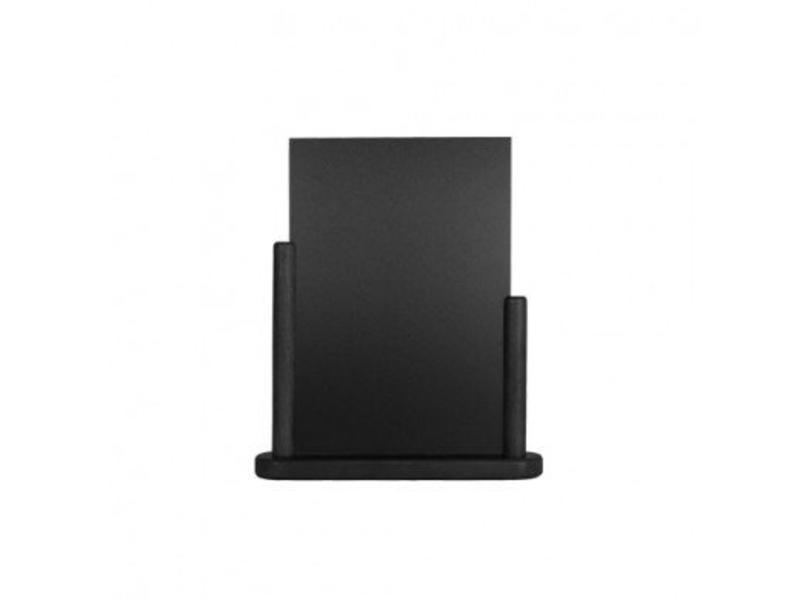 Krijtbord menu A4 - Zwart
