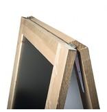 Krijtstoepbord Steigerhout 135 x 75 cm