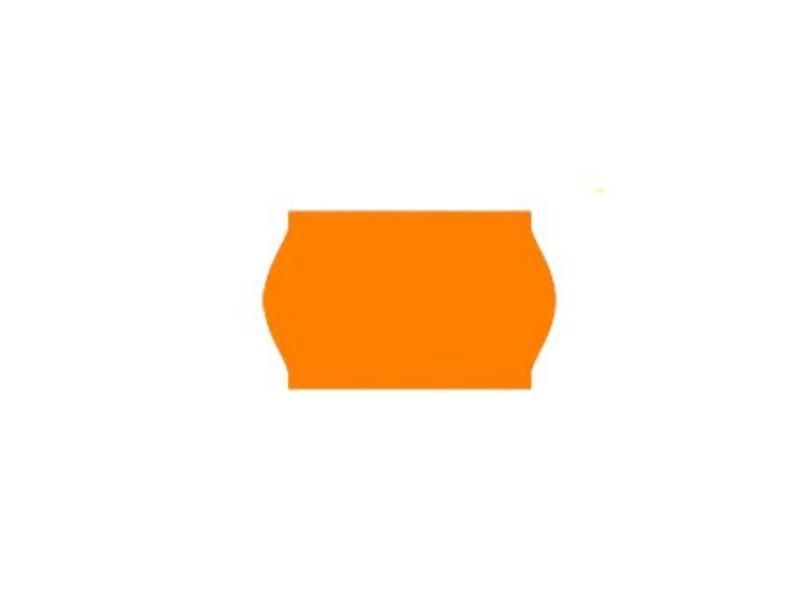 Uno prijsetiketten 26x16 fluor oranje - 1ds à 36 rol